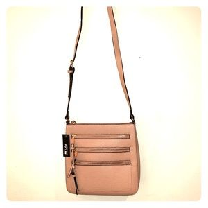 Tan crossbody purse